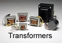 Complete line of audio tranformers and chokes